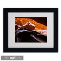 Pierre Leclerc 'Antelope Canyon 3' Framed Matted Art