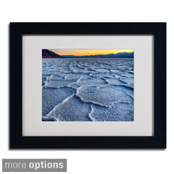 Pierre Leclerc 'Badwater' Framed Matted Art