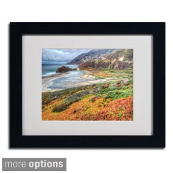 Pierre Leclerc 'Bigsur California' Framed Matted Art
