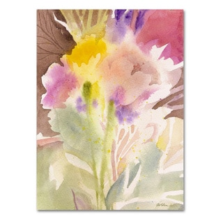 Sheila Golden 'Garden Memory' Canvas Art