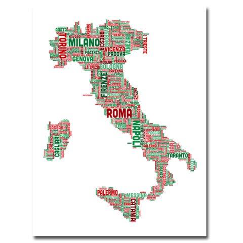 Michael Tompsett 'Italy III' Canavs Art - Multi