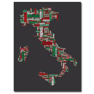 Michael Tompsett 'Italy IV' Canavs Art