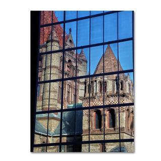 CATeyes 'Trinity Church Reflection' Canvas Art