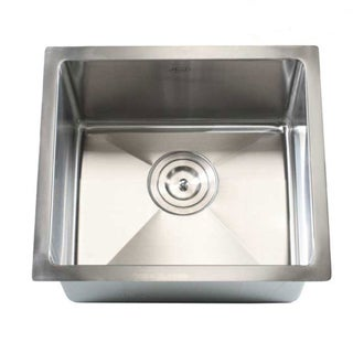 "17"" Undermount Stainless Steel Kitchen Bar Sink 15mm Radius"