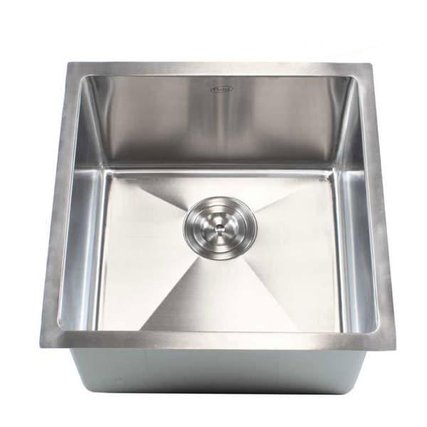 18 Quot Undermount Stainless Steel Kitchen Bar Sink 15mm
