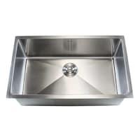19 inch undermount stainless steel kitchen bar sink free shipping stainless steel undermount single bowl 15mm kitchen sink workwithnaturefo