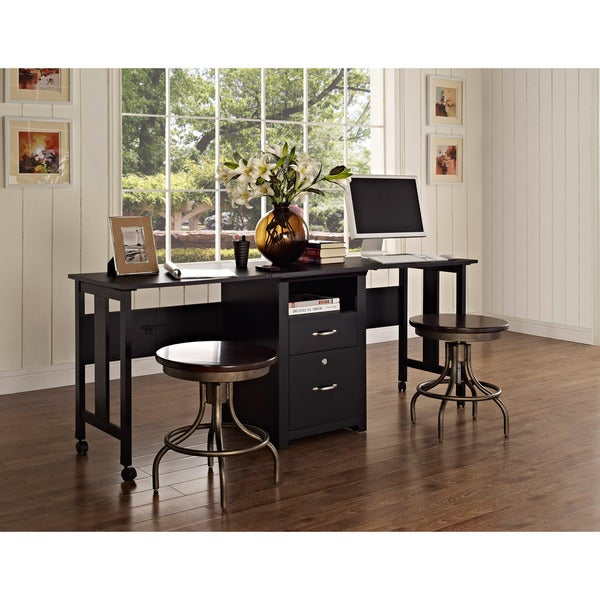 altra 2 person folding desk free shipping today. Black Bedroom Furniture Sets. Home Design Ideas