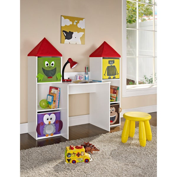 Altra Castlebrook Kids 4 Bin Workstation Desk Free