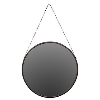 Urban Trends Collection Hanging Metal Mirror
