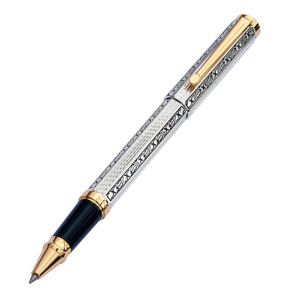 Xezo Legionnaire 18-karat Gold/Platinum Plated Limited Edition Signature Rollerball Pen