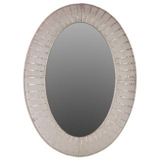 Urban Trends Collection Oval Metal Mirror