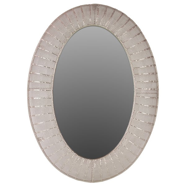 Urban Trends Collection Oval Metal Mirror. Opens flyout.