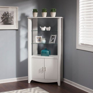 Bush Furniture Aero 2-door Tall Library Storage Cabinet