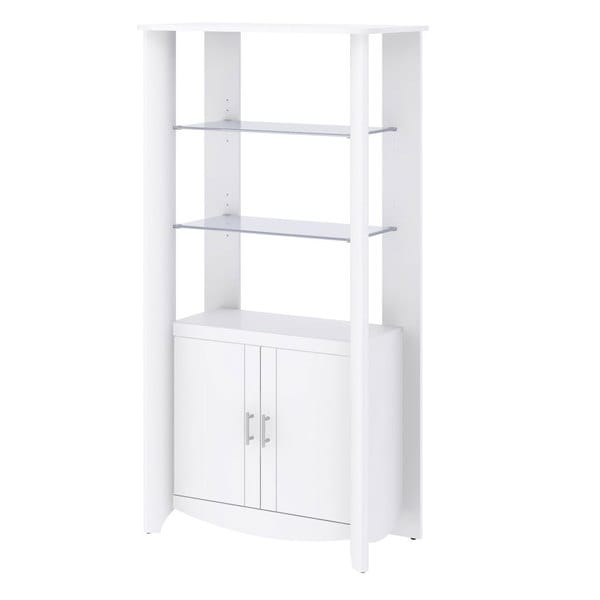 Aero Tall Library Storage Cabinet with Doors - Free Shipping Today ...