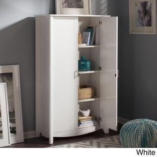 Bush Furniture Aero 2-door Tall Storage Cabinet