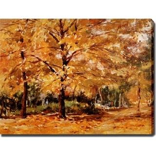 'Autumn' Giclee Canvas Print Art - Multi