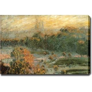 Claude Monet 'Pond' Canvas Art