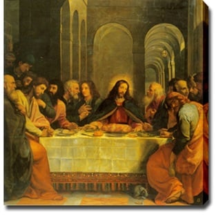 Leonardo da Vinci 'The Last Supper' Canvas Print Art
