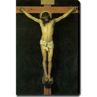 'Jesus on Cross' Canvas Print Art