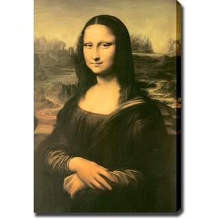 Leonardo da Vinci 'Mona Lisa' Print Canvas Art