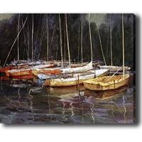 'Boat' Canvas Print Art
