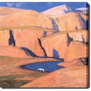'Red Rocks' Canvas Print Art