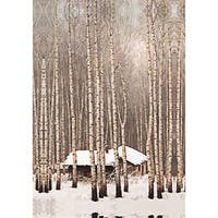 'White Forest' Canvas Print Art