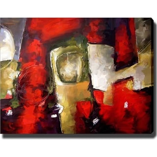 'Red' Canvas Art