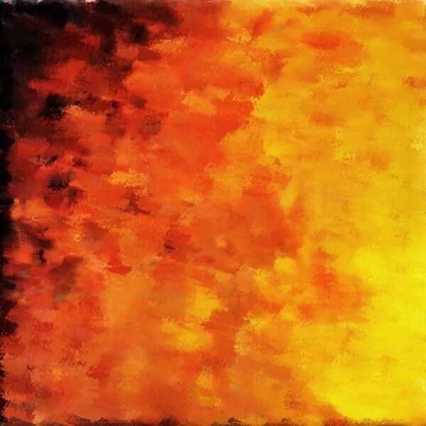 'Fire' Canvas Art
