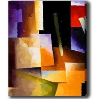 'Blocks' Canvas Art
