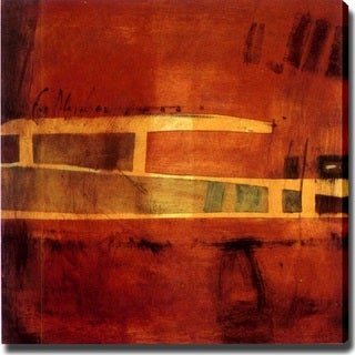 Abstract 'Roadway' Giclee Canvas Art