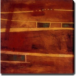 Abstract 'Street' Giclee Canvas Art