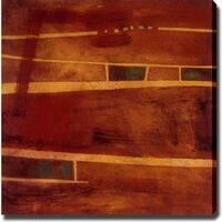 Abstract 'Street' Giclee Canvas Art - Multi