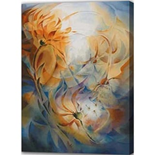 Abstract 'Flower' Giclee Canvas Print Art