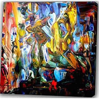 Abstract 'Dance' Giclee Canvas Print Art