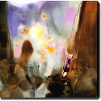Abstract 'Flower' Giclee Canvas Art