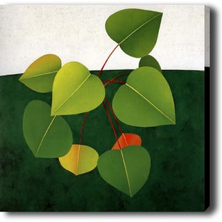 'Color Leaf' Giclee Canvas Art