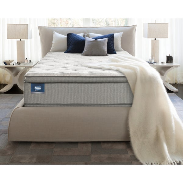 Simmons BeautySleep Titus Pillowtop King-size Mattress Set