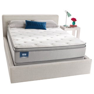 simmons beautysleep titus pillow top fullsize mattress set