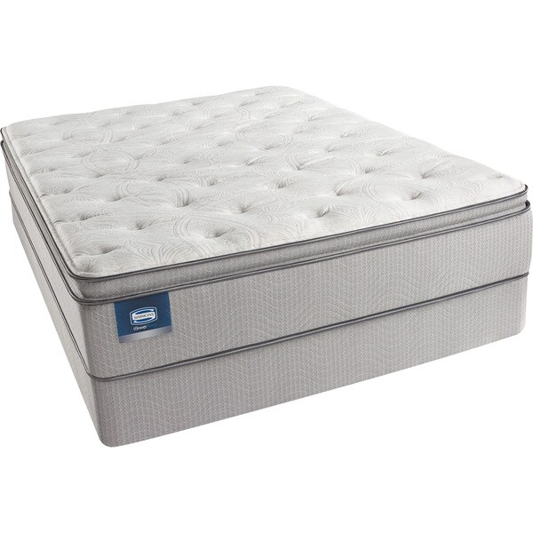 simmons deep sleep mattress. simmons beautysleep titus pillow top queen-size mattress set - free shipping today overstock.com 15559204 deep sleep