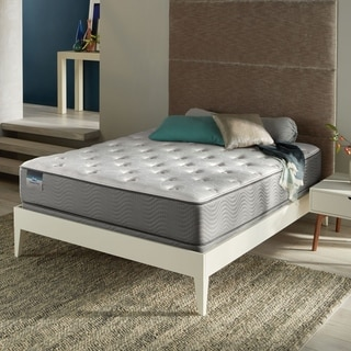 Simmons BeautySleep Kenosha Plush Queen Mattress Set