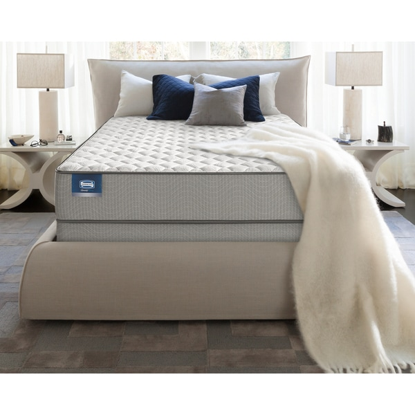 Simmons BeautySleep Kenosha Innerspring/Foam Firm King-size Mattress Set