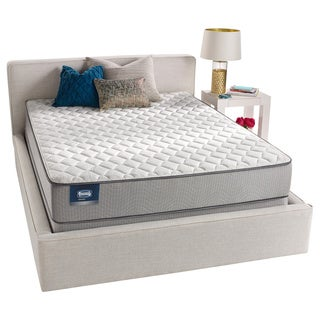 Simmons BeautySleep Kenosha Firm California King-size Mattress Set