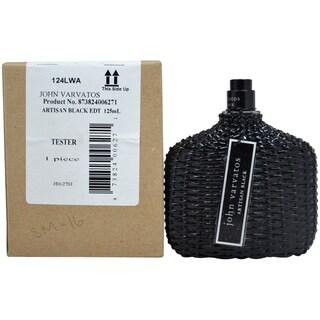 John Varvatos Artisan Men's Black 4.2-ounce Eau de Toilette Spray (Tester)