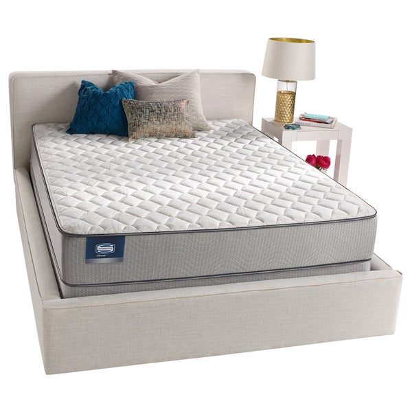 Simmons BeautySleep Kenosha Firm Queen Size Mattress Set