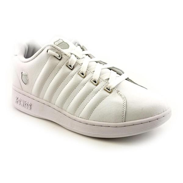 K Swiss Men's 'Albury' Leather Casual Shoes - Extra Wide