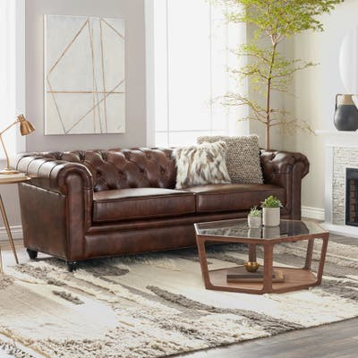 Leather Grey Sofas Couches
