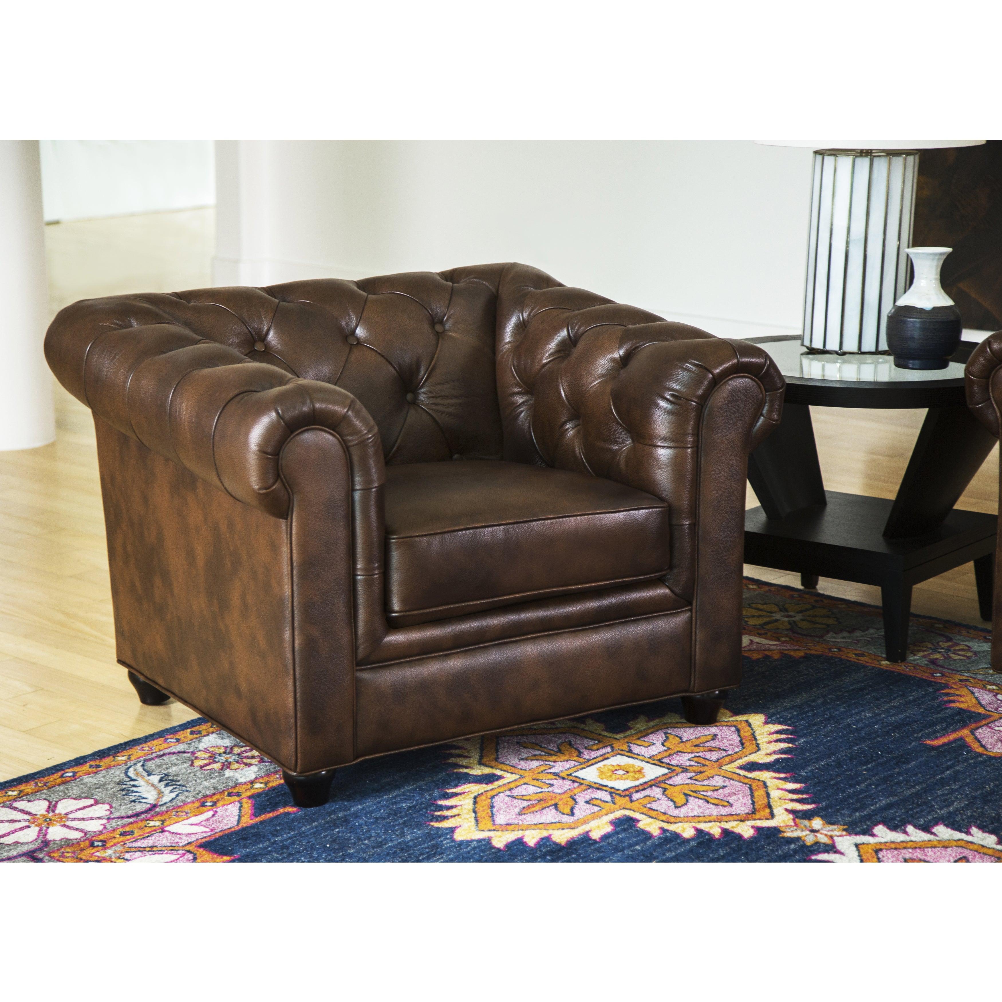 Abbyson Living Tuscan Leather Sofa
