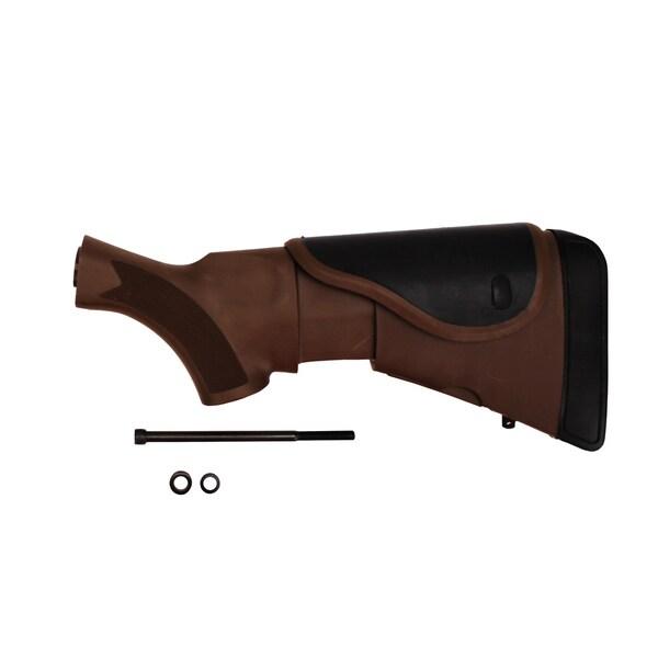 Akita Adjustable Dark Earth Brown Mossberg Stock with CR/SRS