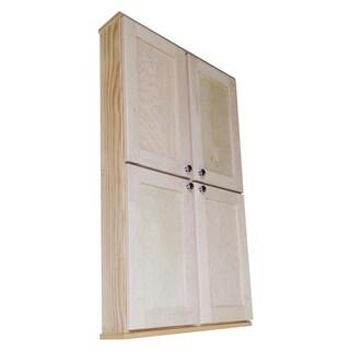Shaker Series 48-inch Double Door Wall Cabinet